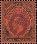 Stamp Southern Nigeria Catalog number: 56