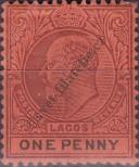 Stamp Lagos Catalog number: 34