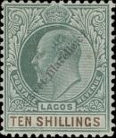 Stamp Lagos Catalog number: 42