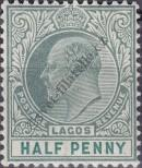 Stamp Lagos Catalog number: 43