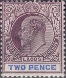 Stamp Lagos Catalog number: 45