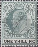 Stamp Lagos Catalog number: 49