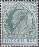 Stamp Lagos Catalog number: 51