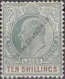Stamp Lagos Catalog number: 52