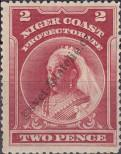 Stamp Niger Coast Protectorate Catalog number: 24