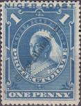 Stamp Niger Coast Protectorate Catalog number: 15