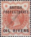 Stamp Niger Coast Protectorate Catalog number: 1