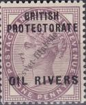 Stamp Niger Coast Protectorate Catalog number: 2