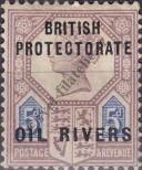 Stamp Niger Coast Protectorate Catalog number: 5