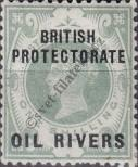 Stamp Niger Coast Protectorate Catalog number: 6