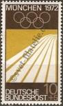 Stamp Germany Federal Republic Catalog number: 587