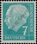 Stamp Germany Federal Republic Catalog number: 181