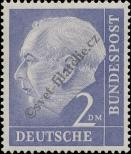 Stamp Germany Federal Republic Catalog number: 195