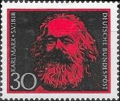Stamp Germany Federal Republic Catalog number: 558
