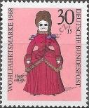 Stamp Germany Federal Republic Catalog number: 573