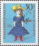Stamp Germany Federal Republic Catalog number: 574