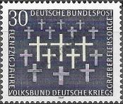 Stamp Germany Federal Republic Catalog number: 586