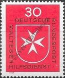 Stamp Germany Federal Republic Catalog number: 600