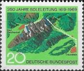 Stamp Germany Federal Republic Catalog number: 602