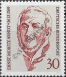 Stamp Germany Federal Republic Catalog number: 611