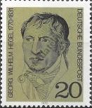 Stamp Germany Federal Republic Catalog number: 617