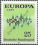 Stamp Germany Federal Republic Catalog number: 716