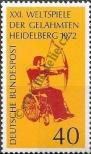 Stamp Germany Federal Republic Catalog number: 733