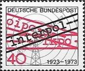 Stamp Germany Federal Republic Catalog number: 759