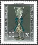 Stamp Germany Federal Republic Catalog number: 1296