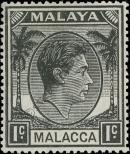 Stamp Malacca Catalog number: 3