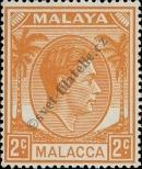 Stamp Malacca Catalog number: 4