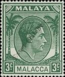 Stamp Malacca Catalog number: 5