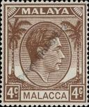 Stamp Malacca Catalog number: 6