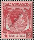 Stamp Malacca Catalog number: 9