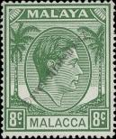 Stamp Malacca Catalog number: 10