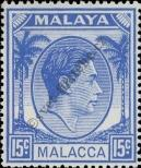 Stamp Malacca Catalog number: 13