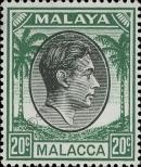 Stamp Malacca Catalog number: 14