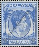 Stamp Malacca Catalog number: 15