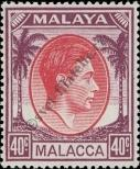 Stamp Malacca Catalog number: 18
