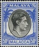 Stamp Malacca Catalog number: 19