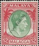 Stamp Malacca Catalog number: 21