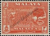 Stamp Malacca Catalog number: 56