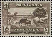 Stamp Malacca Catalog number: 57
