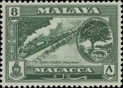 Stamp Malacca Catalog number: 59