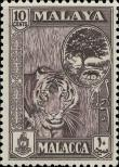 Stamp Malacca Catalog number: 60