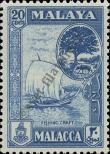 Stamp Malacca Catalog number: 61
