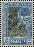 Stamp Malacca Catalog number: 62
