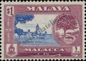 Stamp Malacca Catalog number: 63