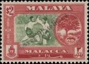 Stamp Malacca Catalog number: 64