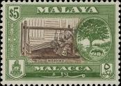 Stamp Malacca Catalog number: 65